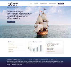 1607 website design
