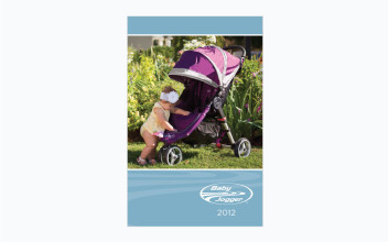 Catalog Design  for Baby Jogger