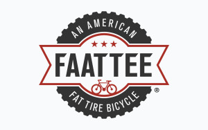 Faattee Fat Tire Bicycles logo design