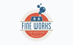 Fine Works logo design
