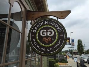 Garden Grove Brewing Company Signage