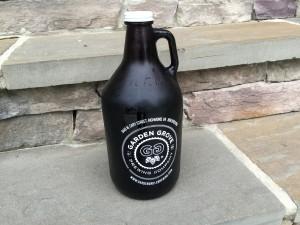 Garden Grove Brewing Company Growler