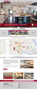 Lifestyle Home Builders website design
