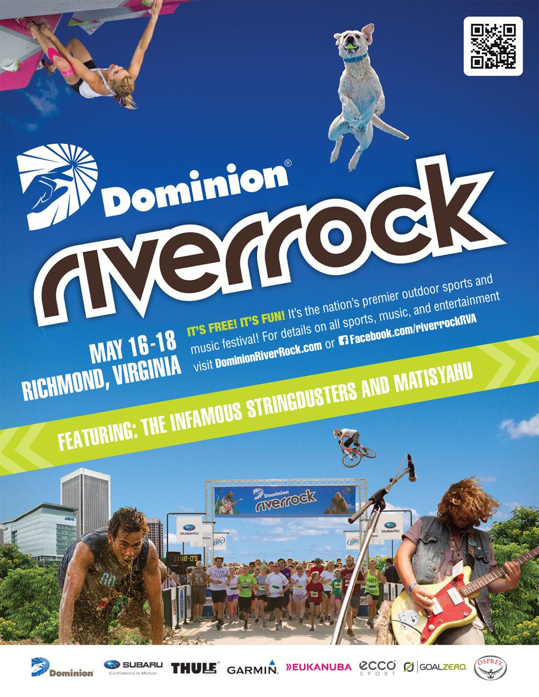 Print Ad for Dominion Riverrock