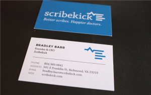 Scribekick Business Cards