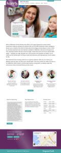 Sharon Harris website design