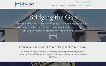 Website Design  for Steiner Business Solutions