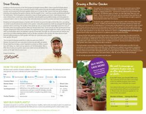 The Growers Exchange catalog design