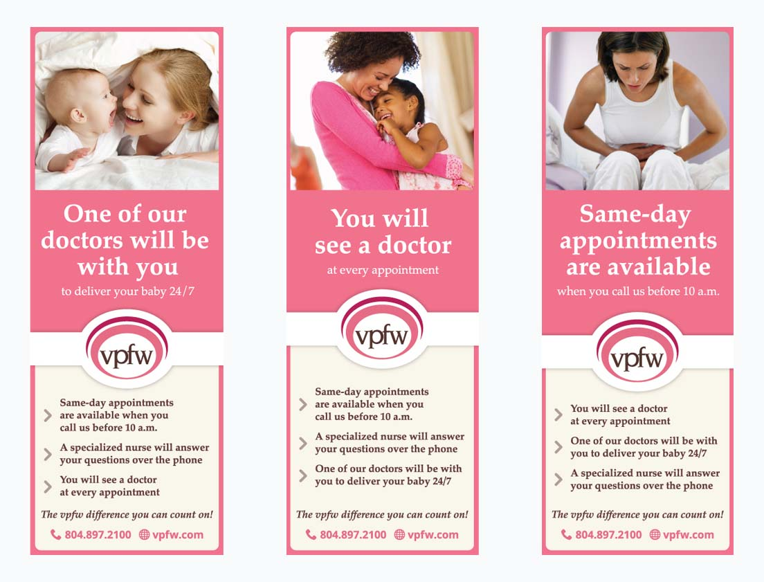 Print Ads for VPFW