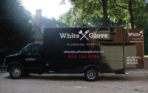 White Glove Plumbing truck design