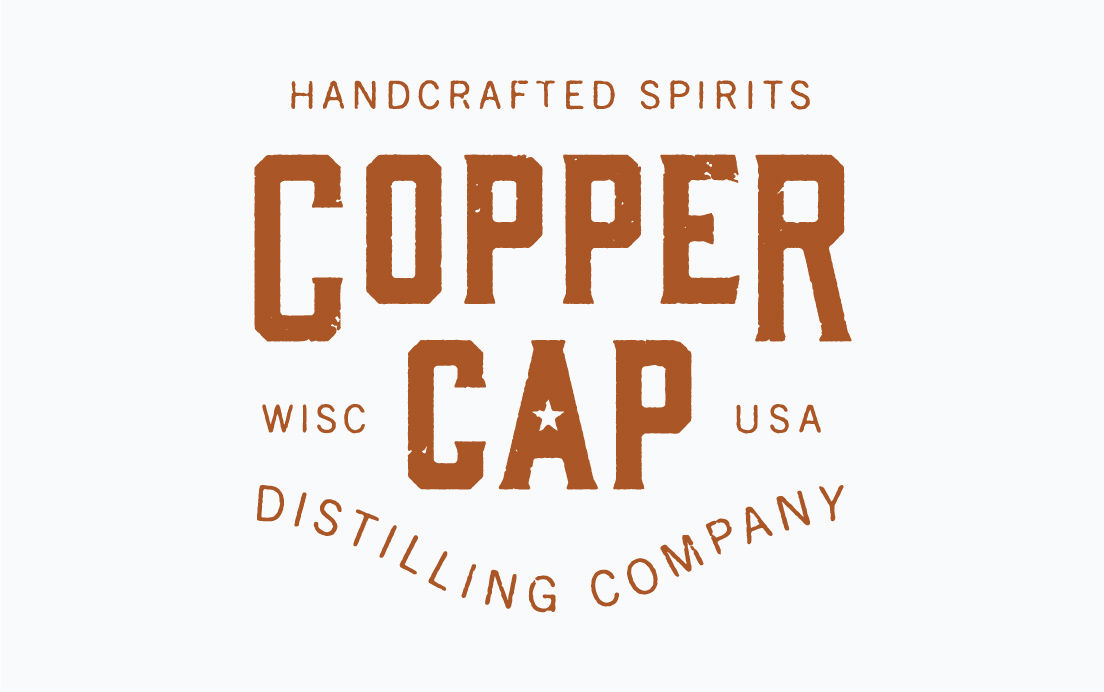Logo Design for Copper Cap Distilling Company