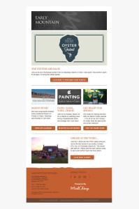 Early Mountian Vineyards Email Newsletter