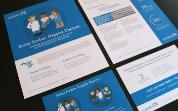 Collateral Design  for Scribekick