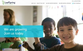 Website Design & Development  for LeafSpring School