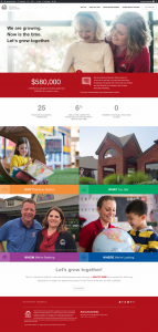 Rainbow Station Franchise Opportunities Website Design