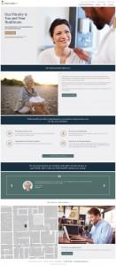 WellcomeMD Website Design