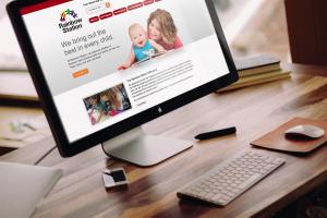 Rainbow Station Website Design