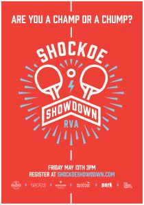Randall Branding Shockoe Showdown Poster
