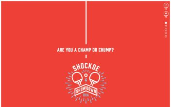 Website Design  for Shockoe Showdown