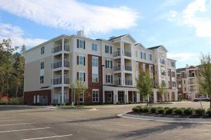 Charleston Ridge Apartments website development