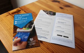 Brochure Design  for Village Bank