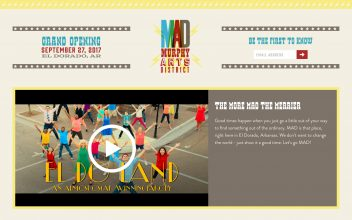 Website Design & Development  for El Dorado Festival & Events