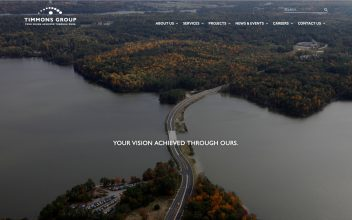 Website Design & Development  for Timmons Group