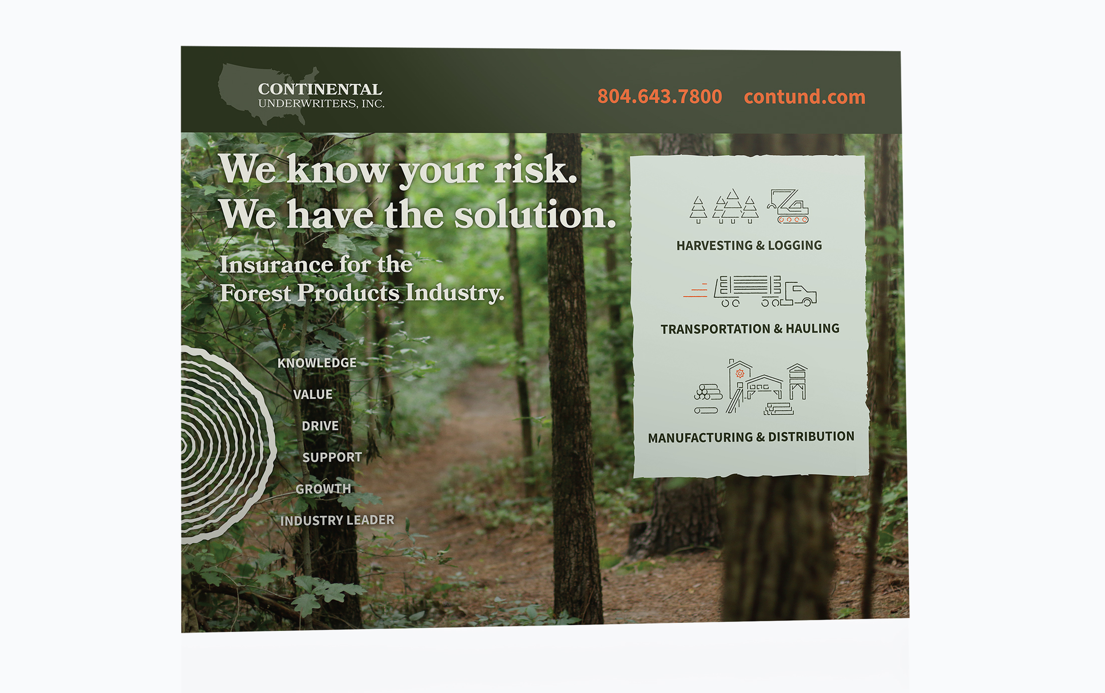Tradeshow Design for Continental Underwriters