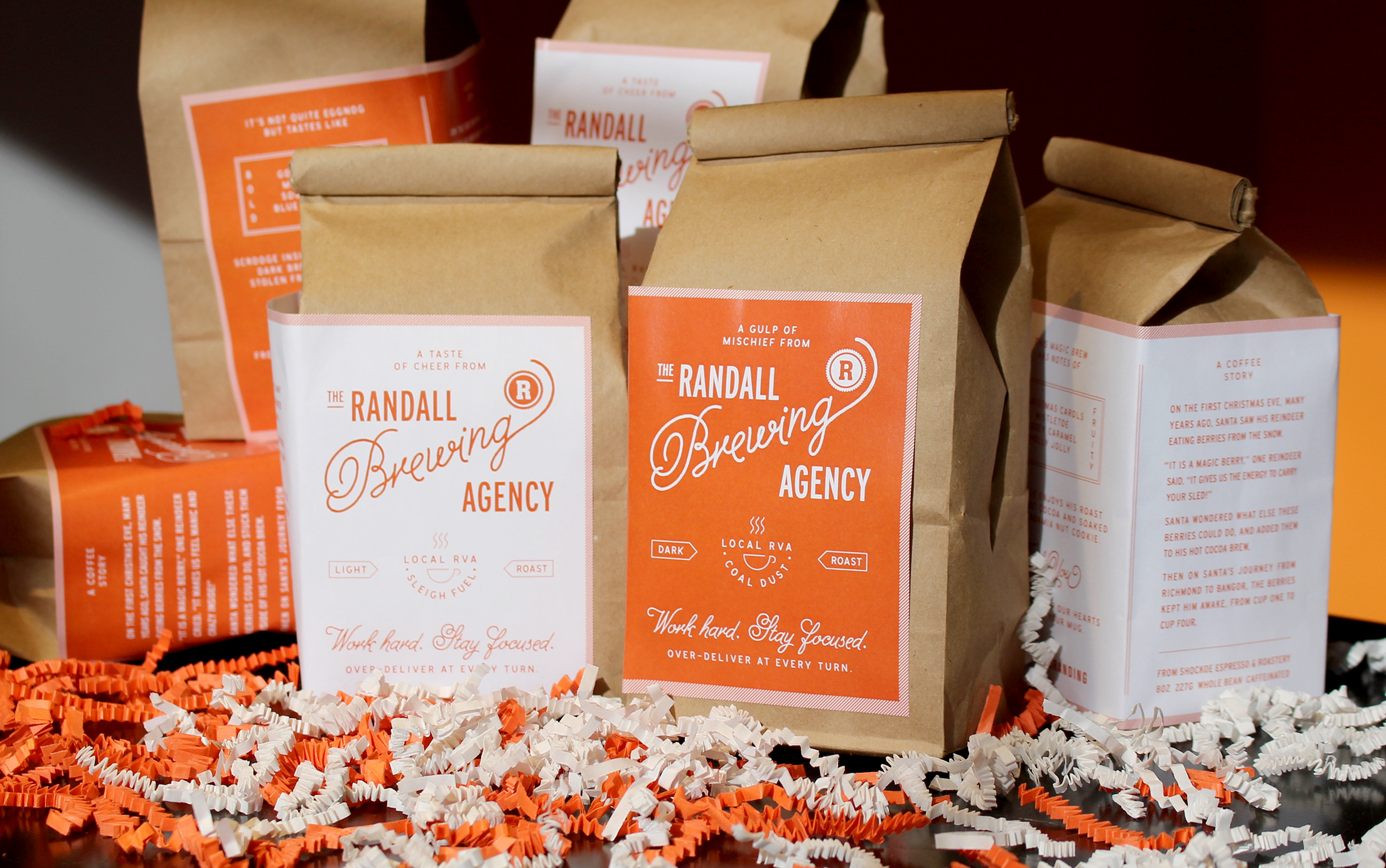 Packaging for Randall Branding