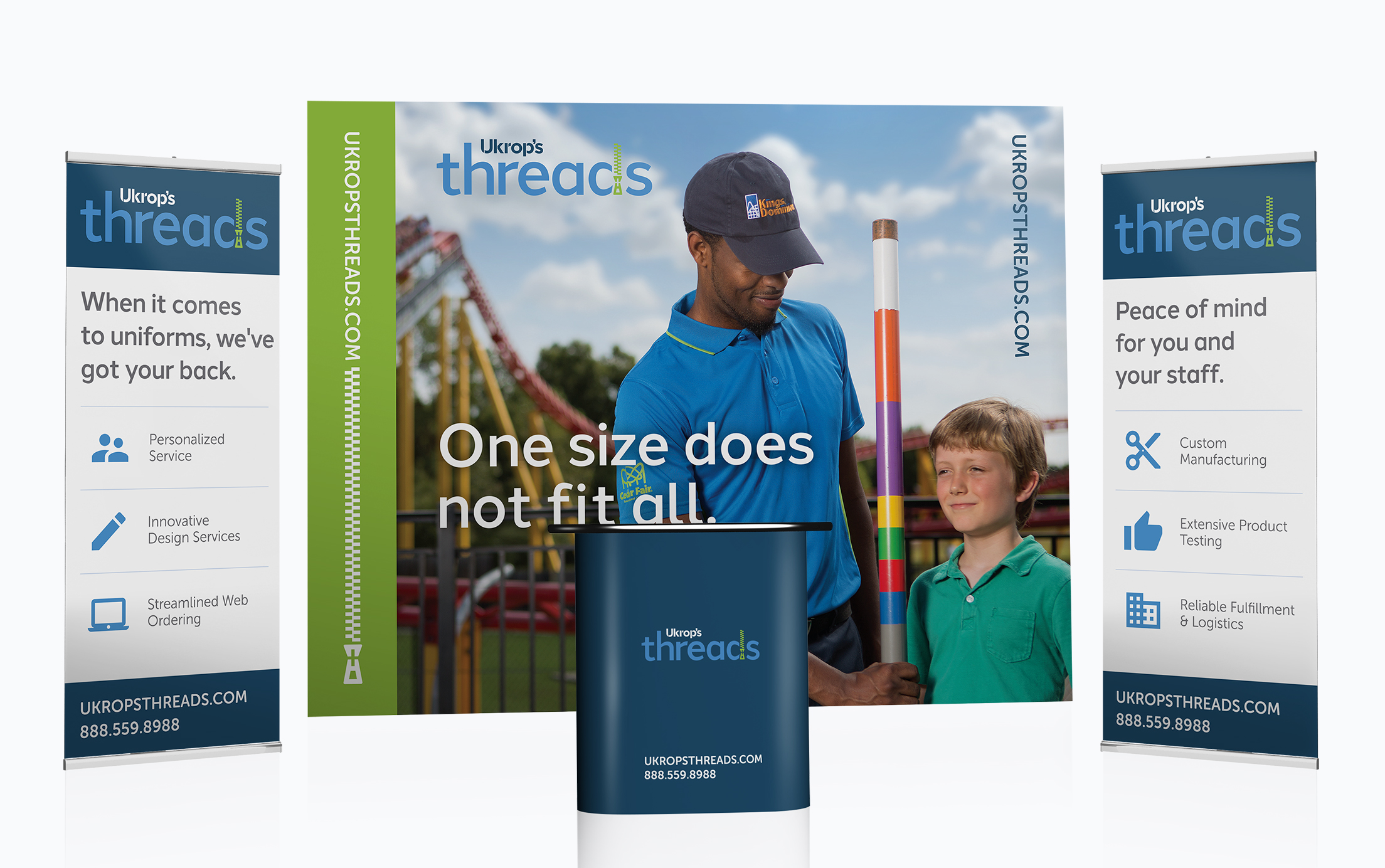 Tradeshow Design for Ukrop's Threads