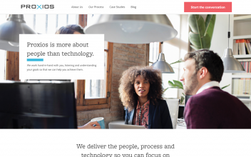 Website Design & Development  for Proxios