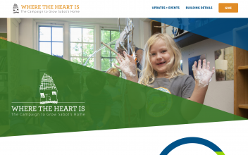 Website Design and Development  for Sabot at Stony Point