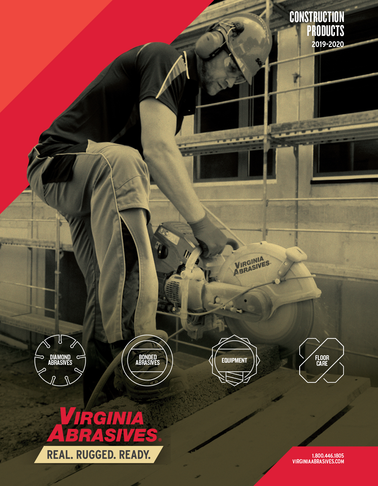 Catalog Design for Virginia Abrasives