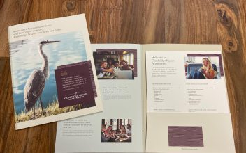 Print Collateral  for Cambridge Square Apartments