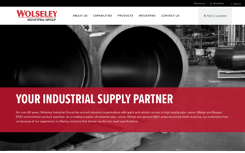 Website Design & Development  for Wolseley Industrial Group